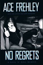 Ace Frehley Signed Book No Regrets KISS Anomaly Signed with COA