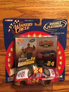 Jeff Gordon #24 Double Platinum 1:43 scale Die cast Winner's Circle