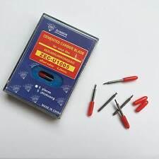 5Pcs 45° HQ Cemented Carbide Blades Roland GCC LiYu Vinyl Cutter Cutting Plotter