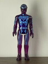 Original 1982 Tron Vintage Tomy Purple Figure Loose Action Figure Euc