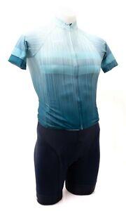 Panache Pro Short Sleeve Cycling Kit Men XS Blue Zinger Road Bike Gravel MTB