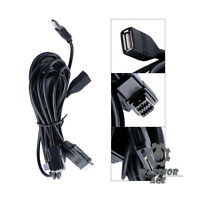 New USB Interface Adapter Cable Set For Iphone 4S Ipod CD-IU201N AppRadio 3