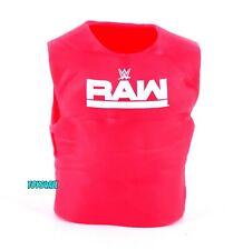 WWE Mattel Elite Raw Shirt Wrestling Action Figure Accessory Clothing Prop_e3