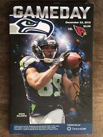 Doug Baldwin Signed Seattle Seahawks Gameday Program Autographed Auto