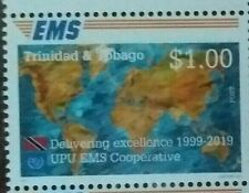 Trinidad & Tobago 2019 UPU EMS Cooperative stamp issue