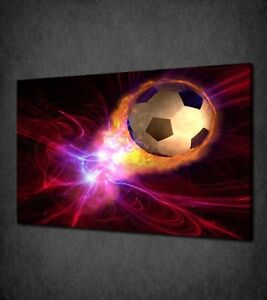 ABSTRACT FOOTBALL CANVAS PICTURE PRINT WALL ART HOME DECOR FREE DELIVERY