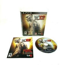 WWE'12 (Sony PlayStation 3, 2011) PS3 Complete CIB