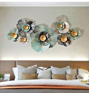 135cm Metal Wall Art Flowers Wall Decor Indoor & Outdoor Wall Decor