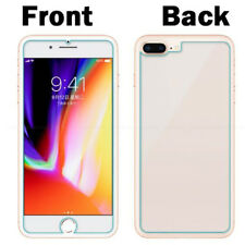 360° Front+Back 100% Temper Glass Screen Protector For iPhone SE X Ten 8 7 Plus