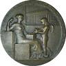 France Bronze Medal 1898 Agents De Change De Paris O. Roty 37mm AU