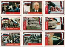 1991 RUSSIAN COUP COMPLETE BASIC TRADING CARD SET