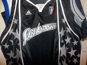 WNBA ,2007 Season ,San Antonio Silver Stars Adidas Team Jersey, Size 2X,(BLANK)
