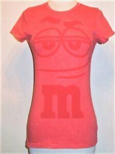 Girls soft retro Big Face M&M's Candy T-shirt