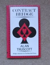 Contract Bridge, by Alan Truscott, 1982, 1st Printing, HC