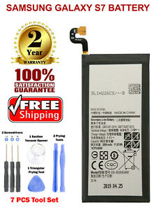Replacement Battery For Samsung Galaxy S7 EB-BG930ABE G930 3000mAh with Tool Kit
