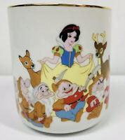 Walt Disney Japan Vintage Rare Snow White & the Seven Dwarfs Cup Mug Porcelain
