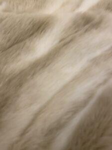Stunning Faux Fur Throw From John Lewis