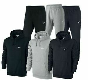 Nike Men's Sportswear Club Overhead Hoody and Joggers Tracksuit 611457 / 611459