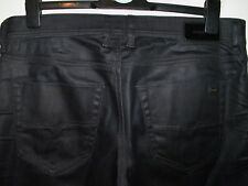 DIESEL TEPPHAR SLIM-CARROT FIT JEANS COATED STYLE 0844H W34 L32 (4571)