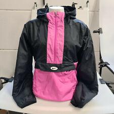 Nike Sportswear Synthetic Fill Fleece Anorak Pink Gr. L Windbreaker Damen