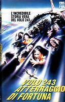 Volo 243 Atterraggio di Fortuna (1990) VHS Fox   Ana Alicia Connie Sellecca RARA