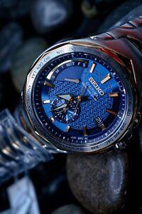 Seiko Coutura Blue Men's Watch - SSG020