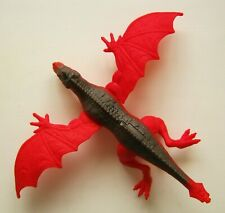 DRAGON-i TOY WINGED FANTASY RED DRAGON MONSTER TOY ACTION FIGURE