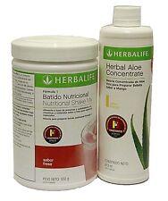 Formula 1 Healthy Meal Nutritional Shake + Herbalife Herbal Aloe Concentrate