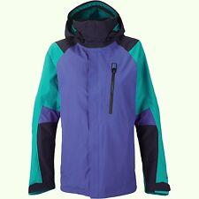 BURTON Women's AK 2L ALTITUDE Gore-Tex Jacket - Sorcer/Clypso Clrblk - S - NWT