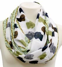 Labrador retriever infinity scarf birthday gift for her circle loop present dog
