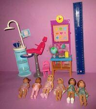 Barbie Baby Sister Happy Family Kelly Chelsea Modern Skipper Friend Doll Lot!