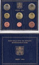 Divisionale monete Euro 1c>2€ FDC Città del Vaticano 2014