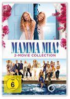 MAMMA MIA!-2-MOVIE COLLECTION-MERYL STREEP,AMANDA SEYFRIED  2 DVD NEUF