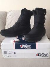 NEW IN BOX! Pajar Womens Winter Boots Moscou-2 Black Nylon Waterproof SIZE 40
