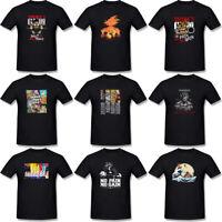 New Dragon Ball Z Super Saiyan T Shirt Short Sleeve Men's Shirt Black