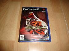 NIGHTSHADE DE OVERWORKS - SEGA PARA LA SONY PLAY STATION 2 PS2 NUEVO PRECINTADO