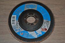 disque à lamelles ACIER/INOX - TYROLIT - premium 125 * 22.23 -  668694 - Grain80