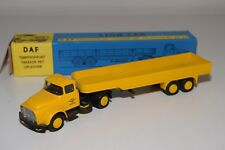 ± LION CAR DAF TORPEDO TRUCK WITH TRAILER DAF EINDHOVEN NEAR MINT BOXED