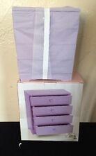 NIB** Kohl's 4 drawer children's Purple  wooden jewelry box