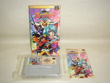 RYU KNIGHT Load of Loads Paladin Super Famicom Nintendo JAPAN Boxed Game sf
