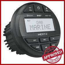 Ricevitore Musicale Hertz HMR 10 D DAB USB Bluetooth per Barche Marine