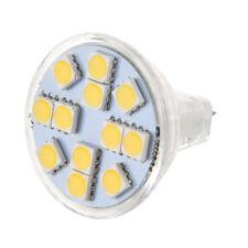 MR11 12 LEDs Lampe Ampoule Spot Bulb Blanc Chaud AC/DC 12V G5H6