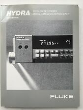 Fluke Hydra 2625A Data Logger/2620A Data Acquisition Unit Users Manual PN 885988
