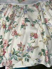Laura Ashley Floral Queen Bed Skirt, French Country Cottage Plus Tablecloth Read