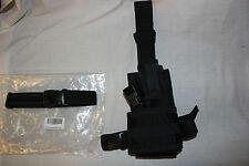 Eagle Industries TACTICAL Black Pistol Gun DROP LEG Thigh Holster Pouch Holder