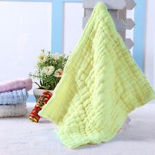 Soft Cotton Baby Infant Newborn Bath Towel Washcloth Feeding Wipe Cloth