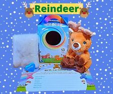"""8"""" Snowflake Reindeer Make a Bear Kit - By The Bear Factory - Brand New"""