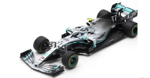 2019 Mercedes AMG Petronas W10 EQ Power+ Valtteri Bottas #77