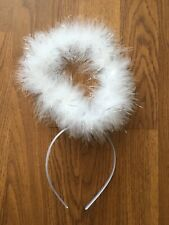 RRP £10 Angel White Halo Headband From Isawitfirst Halloween