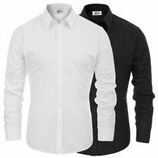 Chemises de costume avec col à boutons, Oxford pour homme